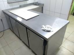Fabrico toda linha de cozinha industrial sob medida