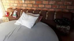 Vendo cama redonda foi toda reformada,com radio embutido