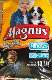 Ração Magnus 70,00 Cães Filhotes C ARNE Premium (PrOMOÇÃO) de 10,1 kg