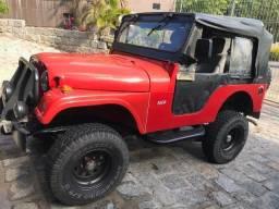 Vendo Troco Jeep ano 60