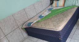Cama box casal , R$350