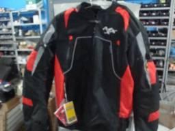 Jaqueta MXX preta\vermelha