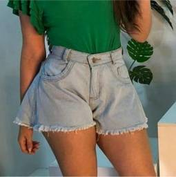 Kit 2 Shorts Godê Jeans