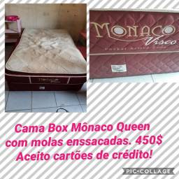Cama Box Queen Mônaco