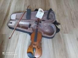 Violino Com Case e Ombreira