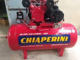 Compressor de ar 110 litros semi novo