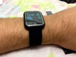 Smartwatch i5 + Pulseira Milanese Extra Brinde