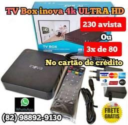 TV Box ULTRA HD 4K INOVA - imperdível