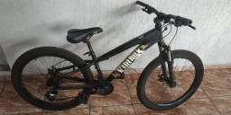 Bicicleta aro 26 toda chimano altus freio disco so 1350 aceit celular e notebook