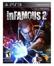 Vendo ou Troco InFamous 2 Dublado Original de PS3