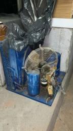 Câmara frigorífica MOTOR 5HP Completo com condensador e filtro