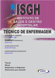 Apostila Técnico em Enfermagem (ISGH / HLDV / UPA) - Impressa 2020