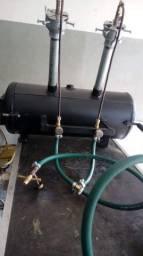 forja e lixadeira de cinta