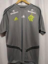 Camisa do Flamengo Treino 2019 comissão técnica
