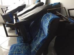 Cadeira acolchoadas