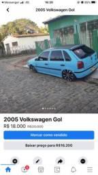 Vendo Gol G3 ou Troco carro mesmo valor