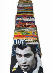 Kit com 30 discos de vinil LP