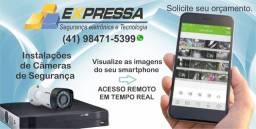 Câmeras de Segurança (CFTV)