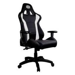 Cadeira Cooler Master Caliber R1 Preto/Branco - CMI-GCR1-2019W - Loja Fgtec Informática