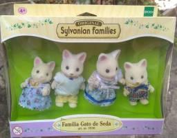 Família gato de seda - Sylvanian Families