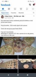 Pizzas para festa