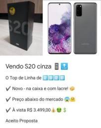 S20 Cinza Novo