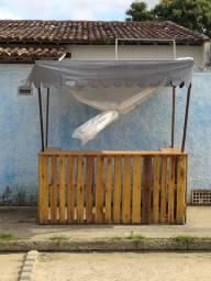 Barraca com gaveta