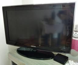 """TV Samsung 32"""" + aparelho conversor Smart TV"""