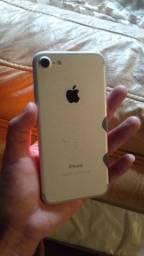 iPhone 7 32gb prata funcionando perfeitamente