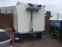 Vendo bau térmico com equipamento de congelamento -20 graus ISO truck e Samurai