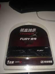 HyperX Fury 16gigas 3200Mhz NOVA