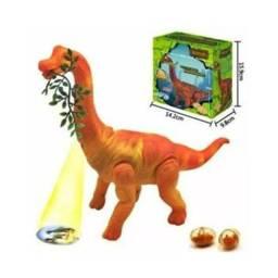 Dinossauro Anda Bota Ovo Som Luz Movimento Projetor - Rong Kai