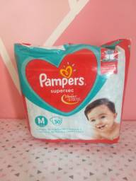 Fralda M Pampers Supersec