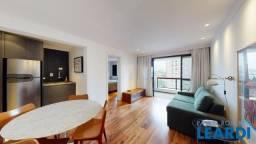 Apartamento à venda com 1 dormitórios em Higienópolis, São paulo cod:611781