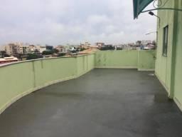 Cobertura com 3 dormitórios para alugar, 150 m² por R$ 1.400,00/mês - Novo Visconde - Maca
