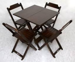Conjunto de Mesas com 4 Cadeiras e Bistrôs para Bares , Restaurantes