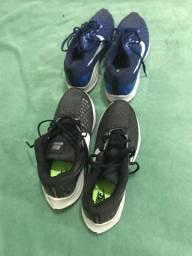 Dois Pares de Tênis Nike n 40