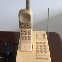 Telefone sem fio antigo Sony