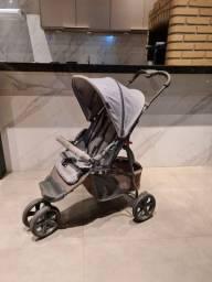 Carrinho bebê 0 meses 15kg 3 rodas