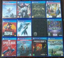 Final fantasy VII e outros jogos: vendo ou Troco