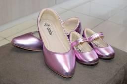 Sapatos coordenados - loja dabi