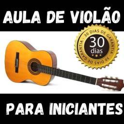 Curso de violão para iniciante - Sem mensalidades!