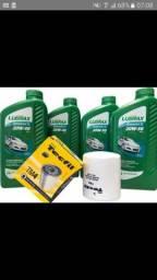 Promoção kit troca de óleo  lubrax 20w50 mineral mais filtro de óleo