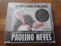 CD Paulino Neves Vou Pr'um Samba de Malandro