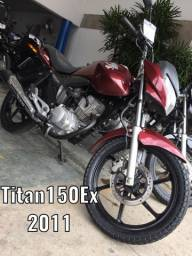 Titan 150Ex-Emplacada/Placa nova!