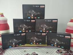 """NOVO tv box 8 de ram 64 armazenamento """"ENTREGA GRÁTIS"""""""