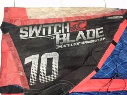 Kite cabrinha Switch Blade 10M ano 2012 usado
