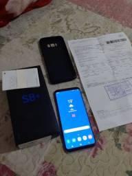 S8 plus + com nota fiscal