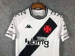 Camisa Kappa Vasco da Gama II com patrocínios