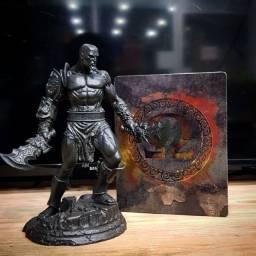 Estátua Kratos - God of War Omega Collection